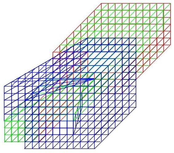 Рис. 8 схема односторонней поверхности без края