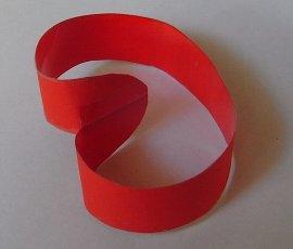 элементарная односторонняя поверхность (второй вариант представления)